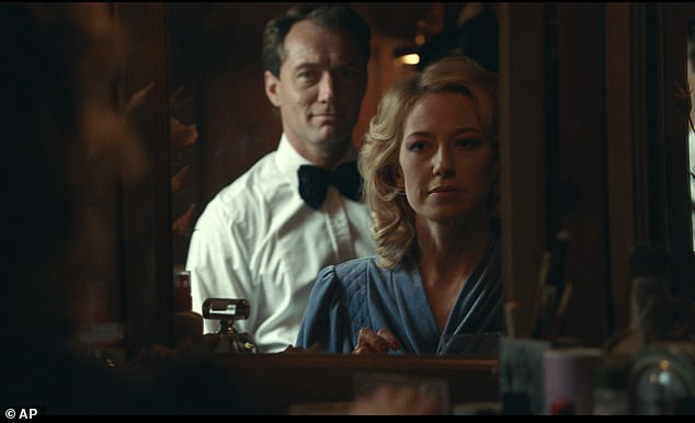 Options: Fans of adult dramas had the options of checking out IFC's The Nest, which starred Jude Law and Carrie Coon, though it only earned about $200 per locations; still from The Nest