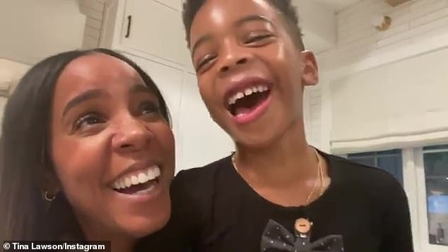 Beyonce's Destiny's Child bandmates Kelly Rowland and Michelle Williams also took part in the drive, with Rowland's adorable son Titan Jewell, five, pitching in with a joke