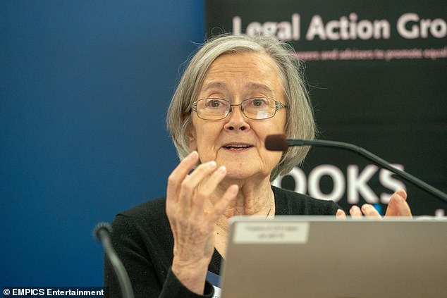 Baroness Brenda Hale, who served as president at the UK's highest court from 2017- 2020, criticised 'sweeping' powers being enforced on the public without the scrutiny of Parliament