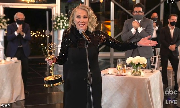 Award winner:Catherine O'Hara won for Outstanding Lead Actress in a Comedy Series