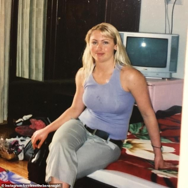 BEFORE:Showing off startling images comparing her 24-year-old body to her 40-year-old physique Freelee claimed she is fitter than ever before