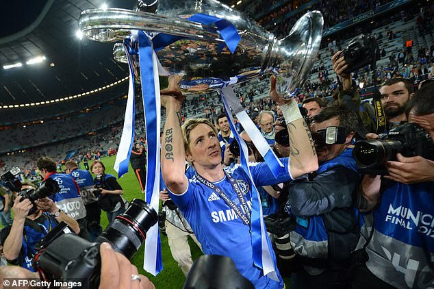 Fernando Torres has picked a combined Liverpool and Chelsea XI from his time at both clubs
