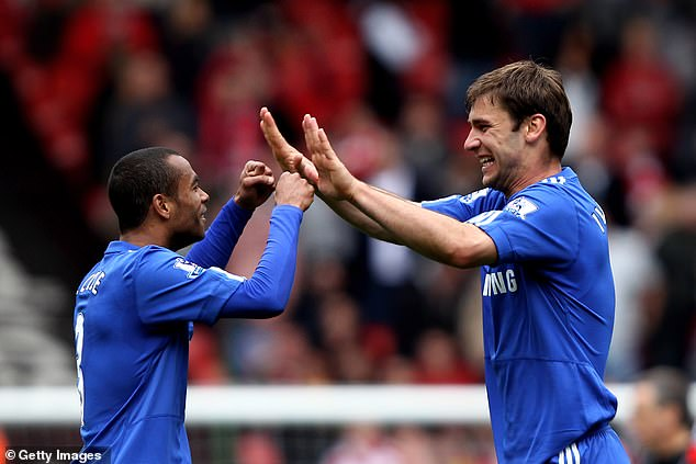 Chelsea pair Ashley Cole and Branislav Ivanovic were given the full-back berths by Torres