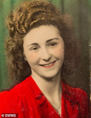 Single Vera (pictured here in around 1940) never left the property - despite four marriage proposals - and has no plans to leave