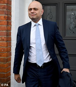 Sajid Javid said student unions are mounting 'an assault on freedom of speech'