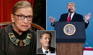 Piers Morgan: The squabble over replacing RBG on the Supreme Court has exposed BOTH sides as a bunch of shabby, insincere, hypocritical charlatans and even the great lady herself isn't exactly blameless
