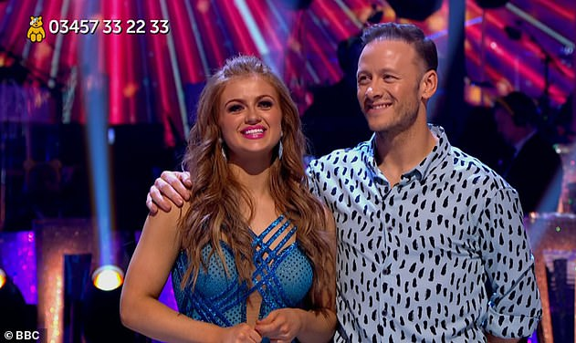 Winner: Maisie won Strictly's Children In Need special alongside former Kevin Clifton last year ¿ already making her a favourite to win