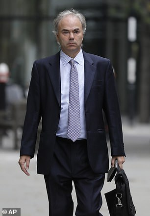 Justin Rushbrooke QC (above) will be Meghan's barrister for the case after David Sherborne was dropped