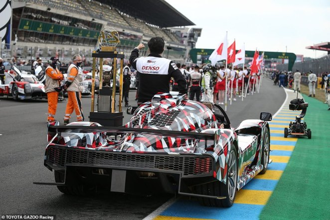 Toyota says the carit 'symbolises the ever-closer relationship between Toyota Gazoo Racing race and road car products'