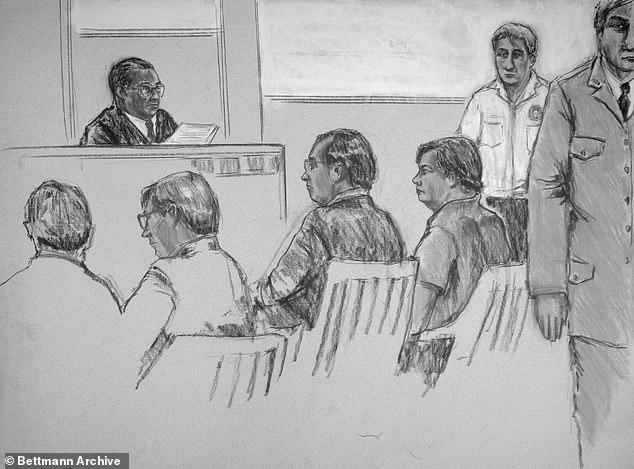 Суд над Чепменом в 1980 году, где он признал себя виновным