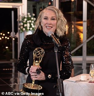 Catherine O'Hara won the Leading Actress Emmy in a Comedy