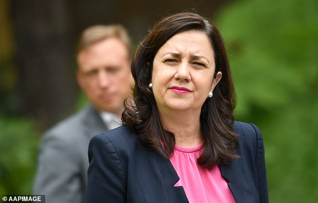 Queensland Premier Annastacia Palaszczuk (pictured) announced on Tuesday as of next weekend the state would be open to more NSW residents after recording zero new cases