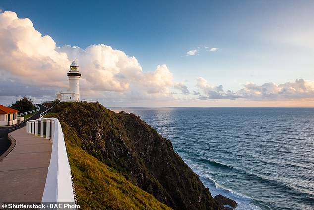 Residents from the Byron Shire will be able to enter into Queensland from October 1 (pictured Byron Bay lighthouse)