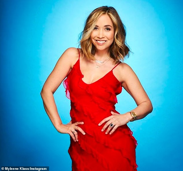 Line-up: Myleene Klass was confirmed as the first celebrity set to take part on the show