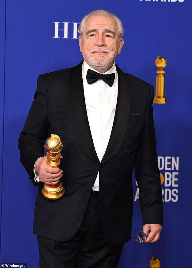 Scottish actor Brian Cox, 74, slammed 'cancel culture' in a new interview and defended JK Rowling in er transgender row, saying there's nothing wrong with saying 'women menstruate'