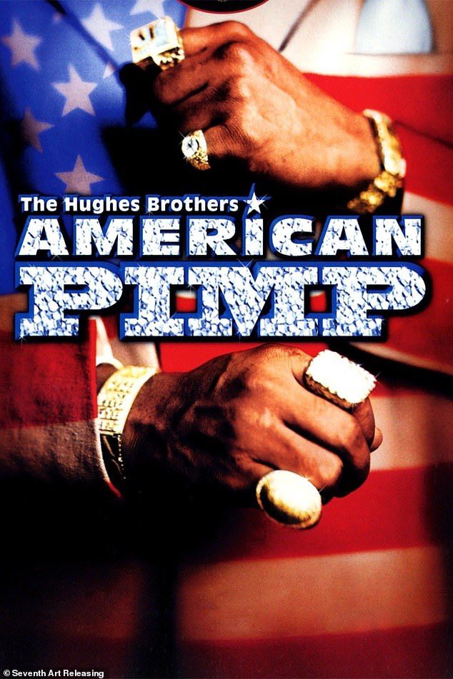 Taylor's escapades as the pimp 'Gorgeous Dre' were featured in the documentary 'American Pimp' (pictured)