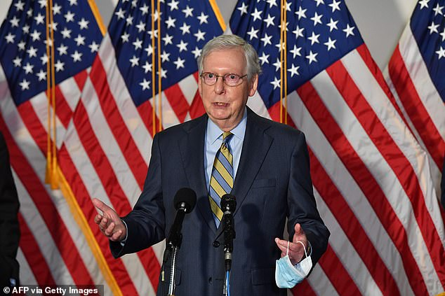 Republican Senate Leader Mitch McConnell would not promise a vote on President Donald Trump's nomination to the Supreme Court before the election