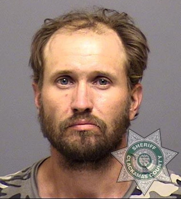 Buck Adam Nickel, 41, allegedly tried to help himself to a trailer that another couple were using to try to help residents evacuate the area. He was caught in the act by a sheriff's deputy
