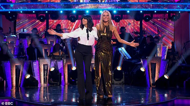 Something to look forward to: Strictly Come Dancing will return to BBC screens this fall and will be presented by Claudia and Tess Daly