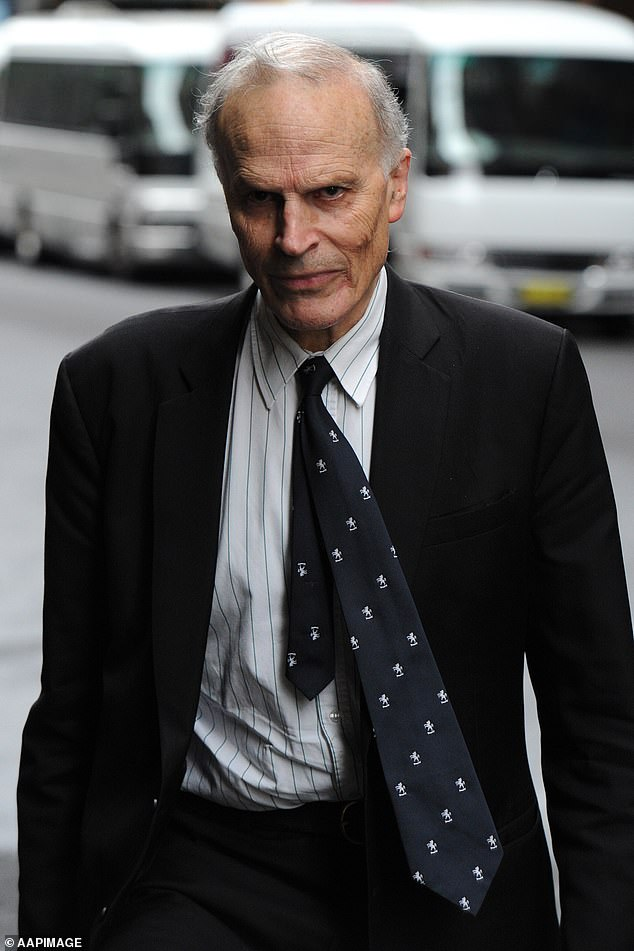 Dyson Heydon (pictured), a former High Court of Australia judge, is among the schools alumni. Heydon is currently facing allegations of inappropriate workplace behaviour by multiple women who used to work with or under him