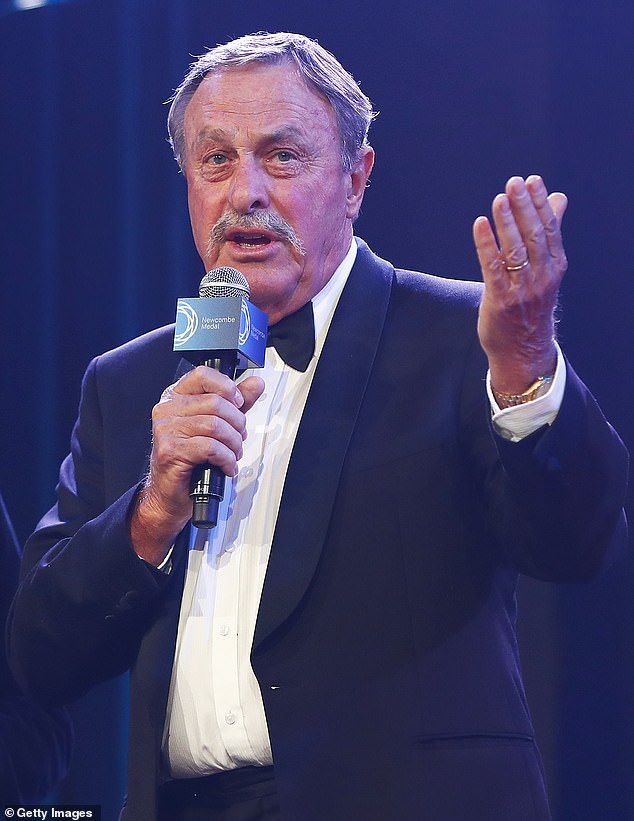 John Newcombe, a seven-time Grand Slam tennis champion, is also a former student at the school