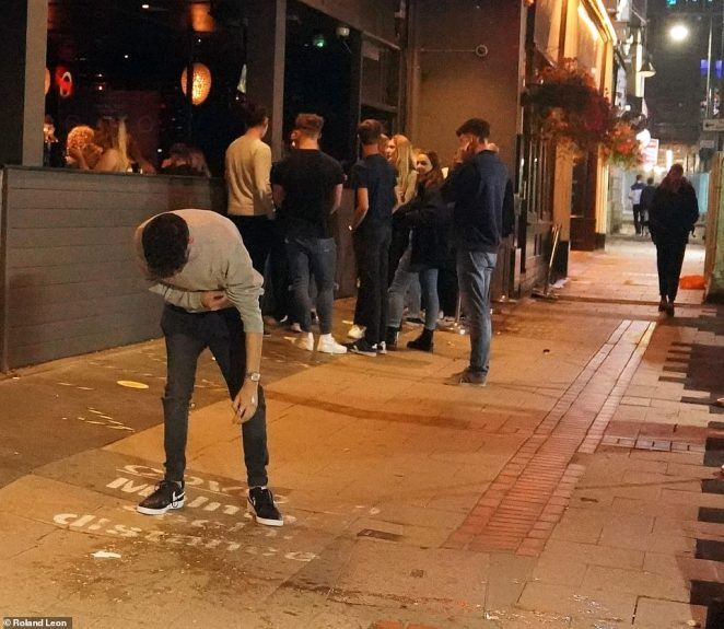 Punters were a little worse for wear in Birmingham as they made the most of their local pubs, just hours after Boris Johnson had told the nation that Covid-19 restrictions were being tightened