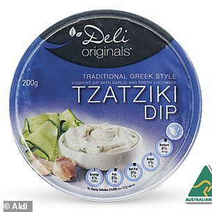Deli Originals dips, which is Aldi's exclusive brands, was a clear winner after earning five star reviews for taste, value for money, texture and consistency, packaging and overall satisfaction