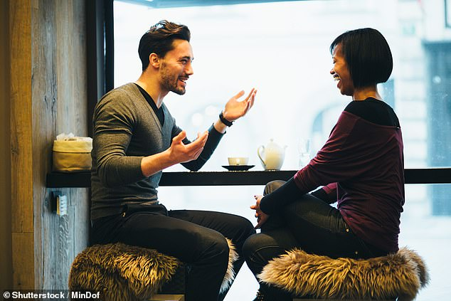 A unnamed white man, 34, from America, has sparked a discussion about interracial dating, after revealing he has never spent time alone with someone from another race (file image)