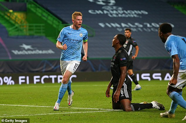 Manchester City's Kevin De Bruyne averages one goal or assist every 88 minutes