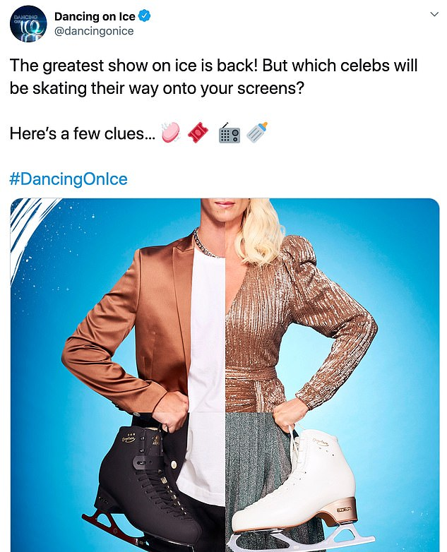 Confirmed!Earlier this week, the skating show gave fans a glimpse of the announcement as they shared a picture of a mash up of Joe and three other contestants - one of which has now been revealed as Denise