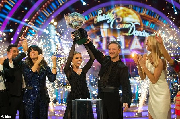 The end!In March, Kevin announced that he decided to quit Strictly after seven years in the professional line-up after landing his dream West End role in Strictly ballroom (pictured after their 2018 win)
