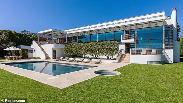 In 2019, Koum purchased NBC Vice-Chairman Ron Meyer's Malibu compound for $100million (pictured)