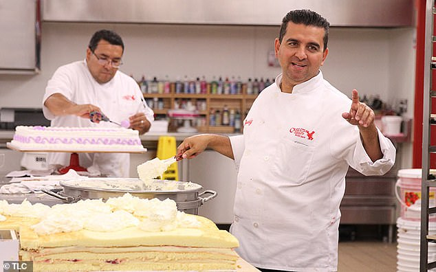 Sweet things: Valastro is best known as the star of the reality television series Cake Boss, which premiered in April 2009