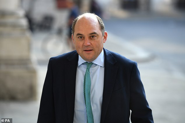 Defence Secretary Ben Wallace triggered a row last night after he appeared to question the legality of the Iraq invasion while standing at the Commons despatch box