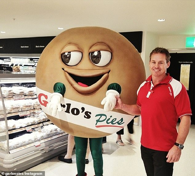 The former Sydney Roosters and Rabbitohs captain, 51, has opened up about his 20-year-old business Garlo's Pies