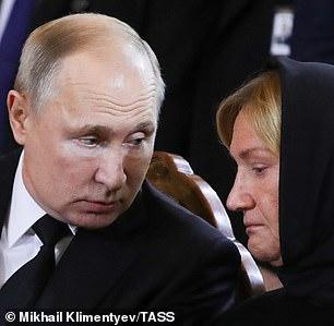 Baturinawith Vladimir Putin