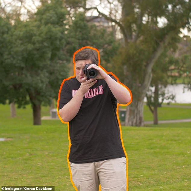 Electrics:Kieran said he purchased camera equipment for his career as a vlogger
