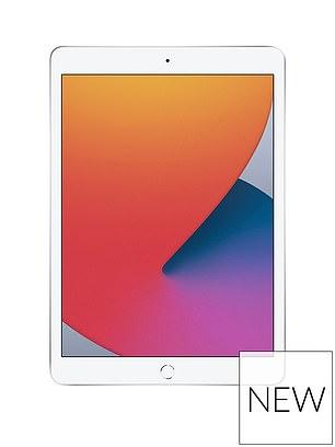 Apple iPad (2020) 128Gb, Wi-Fi, 10.2 inch - Silver (£429) at Very