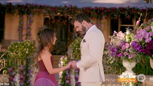 The Bachelor's most BRUTAL break-up: A sobbing Locky Gilbert dumed Bella Varelis right after saying 'I'm falling in love with you' during Thursday night's drama-filled finale