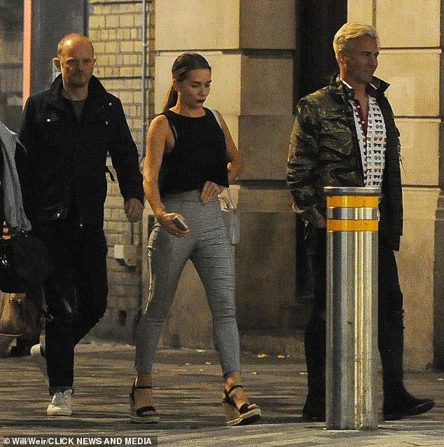 Moving on:Candice's appearance comes after her estranged husband Liam Macaulay was revealed to be looking for love on the dating app Bumble