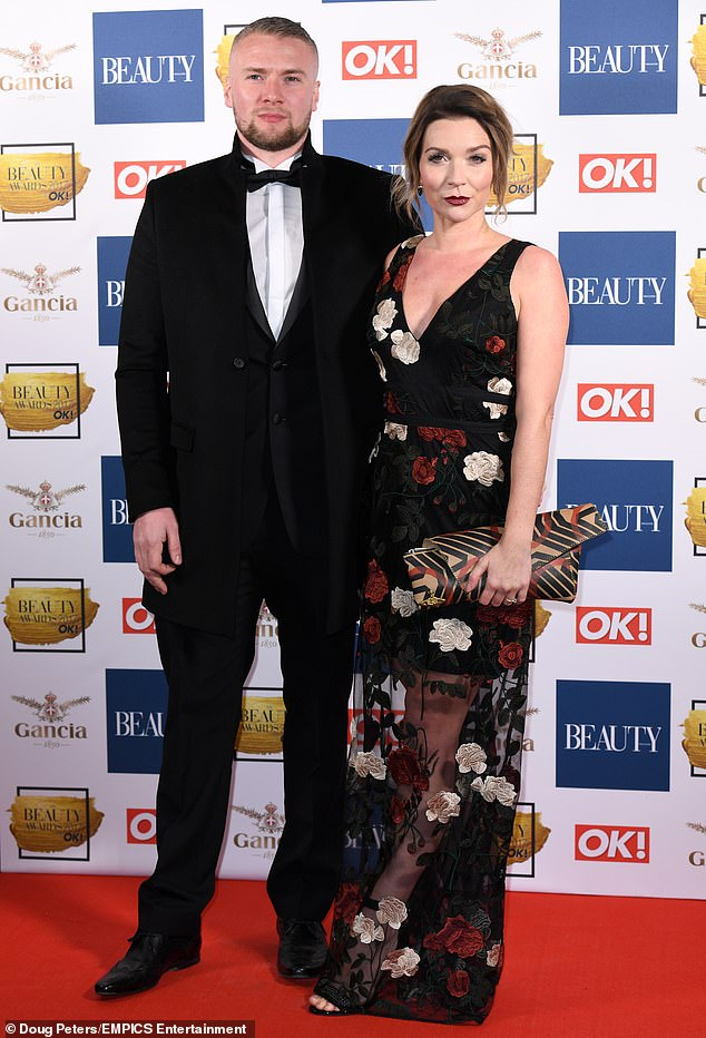 Happier times: Liam told MailOnline last month how his relationship with Candice collapsed under the pressures of fame as the TV cook's career took off after winning Bake Off in 2016 (pictured in 2017)