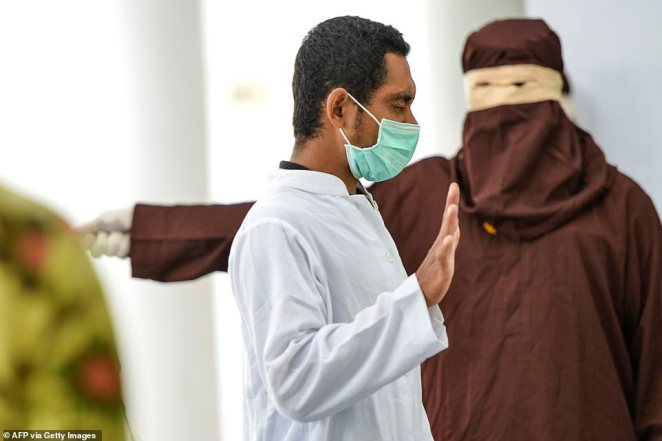 Roni had been sentenced to 175 lashes, reduced to 169 for the six months he spent in jail, but collapsed after 52 as medical examiners rushed to assist him