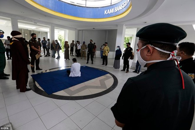 Banda Aceh is the only Indonesian province to use punishments based on Sharia Law, which include whippings for those caught drinking, gambling or having gay sex