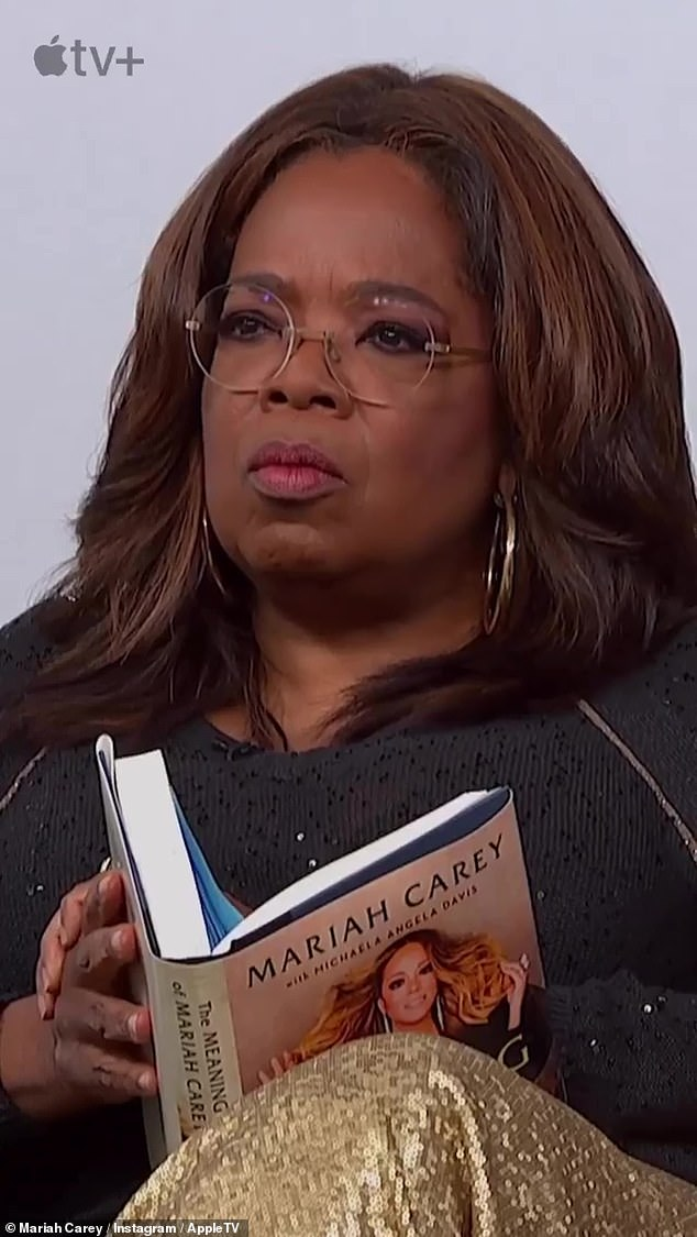 Business: The 50-year-old legend sat down with Oprah Winfrey to discuss her explosive new book, The Meaning of Mariah Carey.