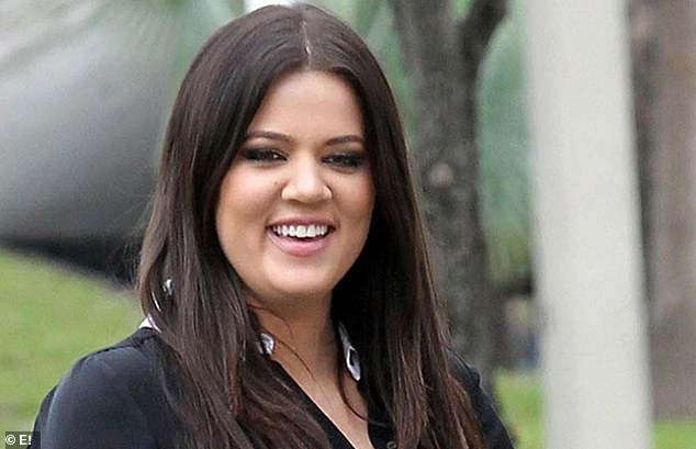 Who's that girl? When Khloe's career began she had a very different face; seen in 2007