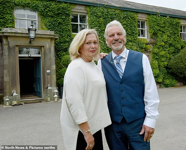 Peter Hall Peter Hall, 72, who runs Farlam Hall Country House Hotel in Brampton, Cumbria, with his wife Bb, 67