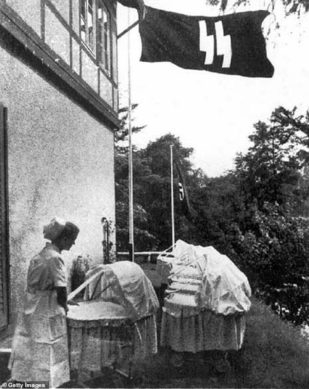 1754: Lebensborn nursing home. Lebensborn (Fount of Life) was a Nazi organization set up by SS leader Heinrich Himmler, which provided maternity homes and financial assistance to the wives of SS members and to unmarried mothers