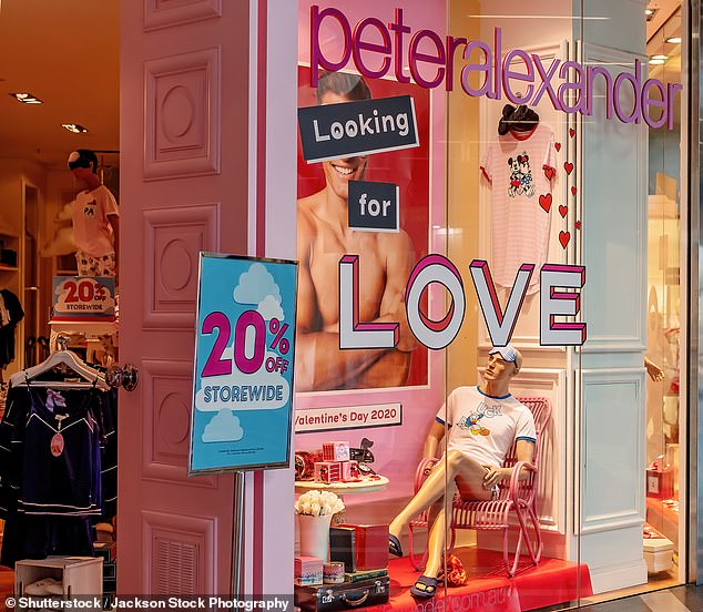 Over the last seven years Premier Investments Limited has closed 137 stores(pictured, one of their brands Peter Alexander)