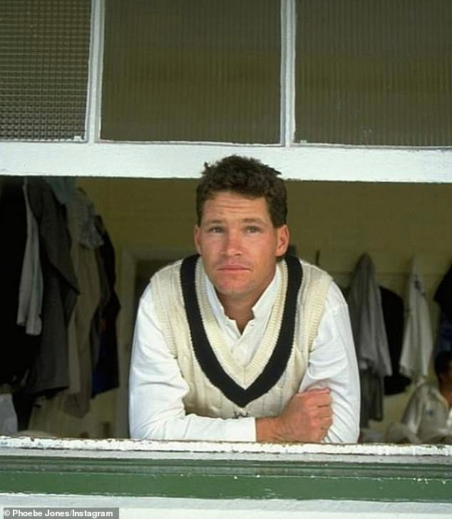 Jones (pictured) played 52 Tests for Australia with an impressive 44.61 run average