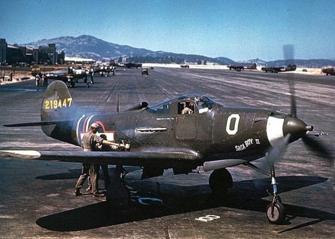 The P-39 Airacobra (pictured) was a fighter aircraft made by Bell Aircraft. It first flew in 1939 but was not introduced into the American fleet until 1941